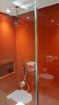 Dunton Green, UK: Rainfall shower/wet room