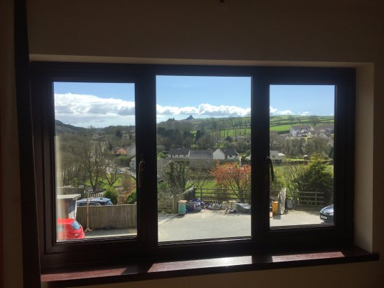Wolf's Castle, UK: View from bedroom window