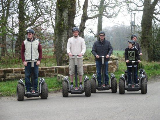Auchinleck, UK: Up to full speed!