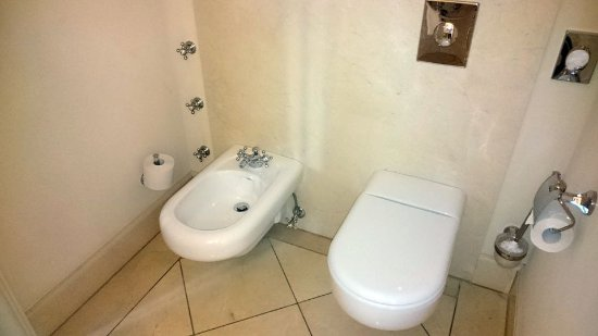 Unkel, Germany: Bidet u. WC