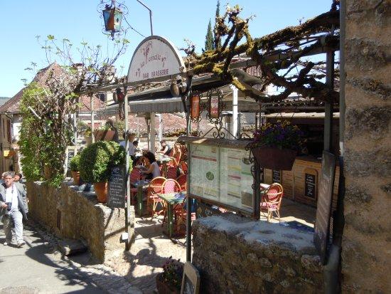 le restaurant picture of la tonnelle cirq lapopie tripadvisor
