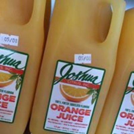 Arcadia, FL: We make fresh squeezed Orange, Strawberry Orange, and Grapefruit Juices.