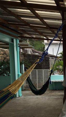 Hotelito Solidario Casa del Rayo Verde : Terraza de la habitación con terraza