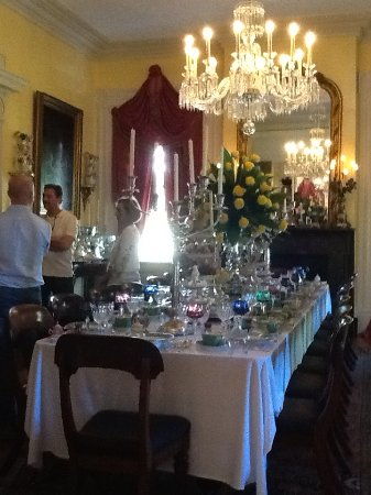 Natchez, MS: One of the dining rooms open to the public
