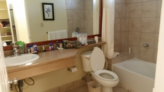 Doubletree Resort by Hilton, Central Pacific - Costa Rica: Very large bathroom