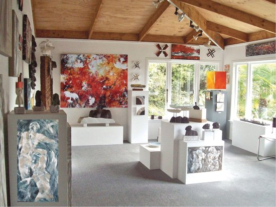 Mapua, New Zealand: Bronte Art Gallery