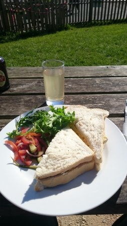 Lovely lunch in the sun