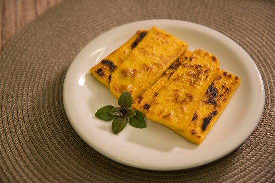 Polenta brustolada, a tradicional na chapa! - Picture of Nonno Mio ...