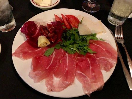 La Terrazza Restaurant: Prosciutto e Formaggio