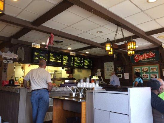 Marino 39 s seafood fish chip columbus menu prices for Fish restaurants in columbus ohio