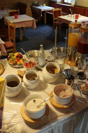 Postal, Italy: Gesundes Frühstück!