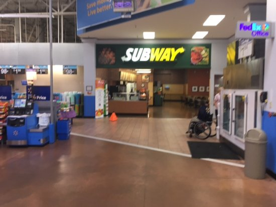 Roanoke, TX: Walmart Subway