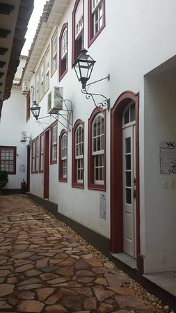 Pousada Pequena Tiradentes: Rua dos Apartamentos.