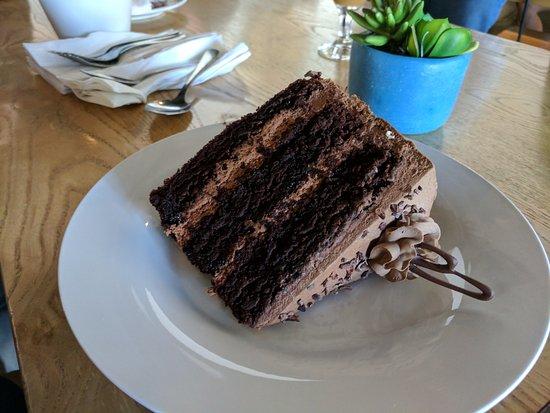 Artesia, CA: green tea chocolate cake