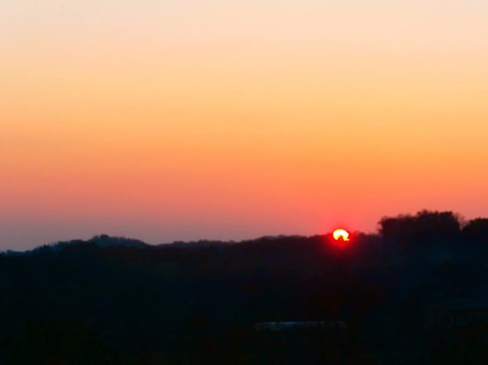 Kingsport, TN: Sun Setting