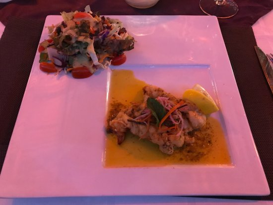 Miracle's South Coast Restaurant and Bar : Half lobster, delicious spices!