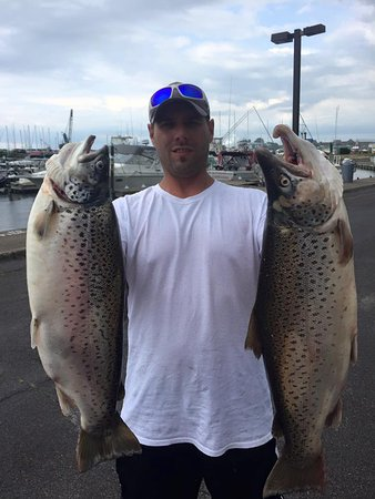 Oswego, NY: Brown Trout in June