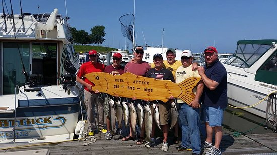 Oswego, NY: REEL ATTACK FISHING CHARTERS