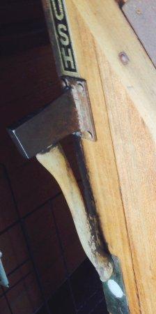 Prospect, OR: Axe door handle