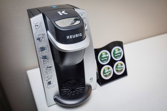 Stone Villa Inn San Mateo - San Francisco SFO: Keurig coffee makers in every room
