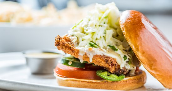 San Mateo, Califórnia: Southern Fried Chicken Sandwich