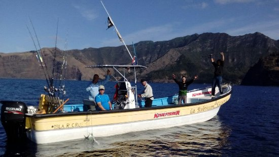 Isla Robinson Crusoe, Chile: Pesca de vidriola