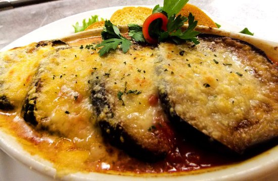 Grass Valley, CA: Sicilian Style Eggplant Parmesan