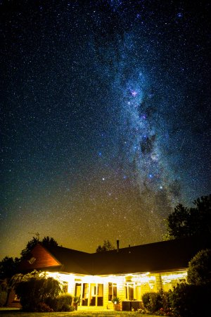 Amberfields Bed & Breakfast : Taken at 3am by one of our guests from Beijing, the Starry Starry Night above Amberfields