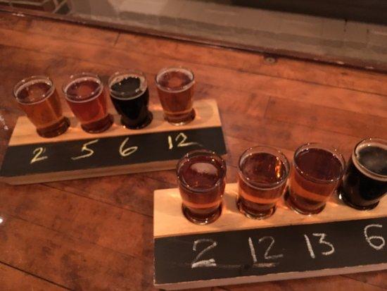 Shipyard Brewing Company: Flights!