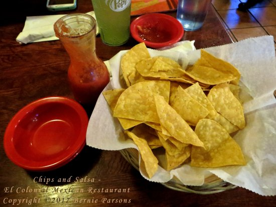Ashland, KY: Chips and salsa are free with every meal.