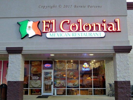 Ashland, Κεντάκι: El Colonial Mexican Restaurant, Russell, Kentucky.