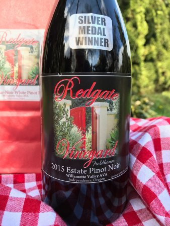Independence, OR: Silver Medal Winner 2015 Estate Pinot Noir