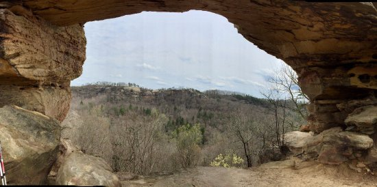 Winchester, Kentucky: View from Double Arch