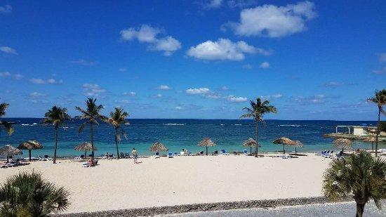 The beach at Club Havana