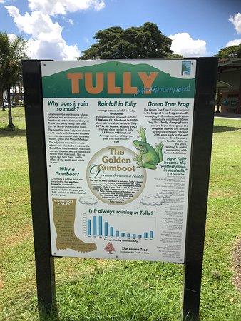 Tully, Australien: Golden Gumboot