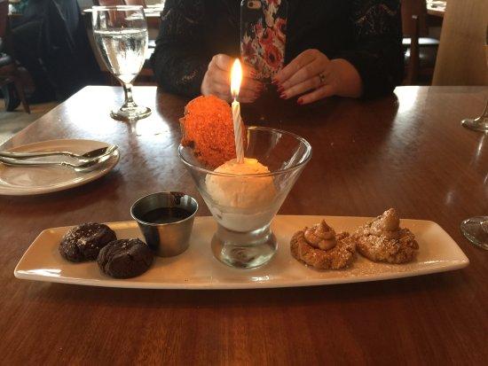 Kirkland, WA: At my birthday luch