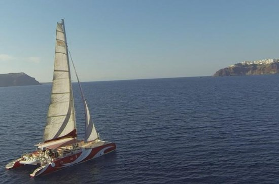 Santorini Sailing Dream Catcher with...