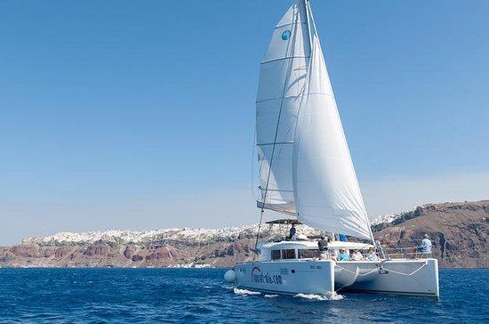 Excursión en velero en catamarán para...