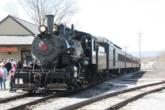 Hollidaysburg, PA: Everett Railroad Steam Engine #11