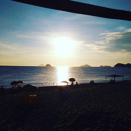 Boicucanga, SP: pôr do sol vista do Sebasthiana