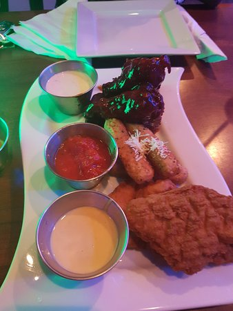 triple dipper picture of toppers restaurant bar port of spain