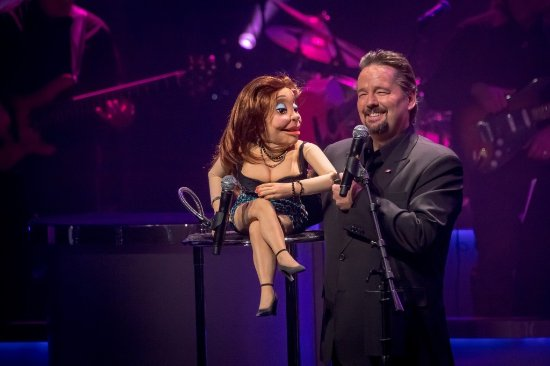 Terry Fator - The Voice of Entertainment: one of his puppets and Terry