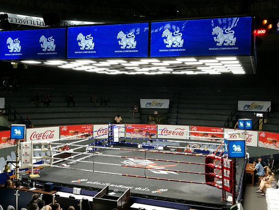 ‪Rajadamnern Thai Boxing Stadium‬
