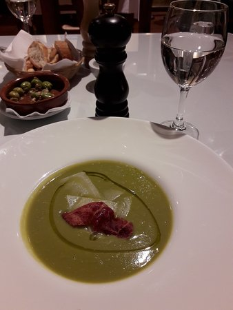Arriate, Espagne : Pea soup