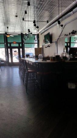 Boathouse Cantina: Bar area