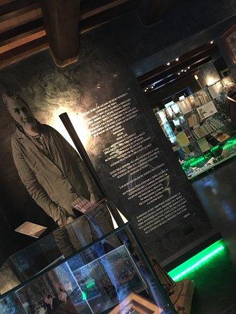 Scheggino, Italien: Museo con una bella atmosfera, si cerca di raccontare una storia di cui tutto il paese ne va fie