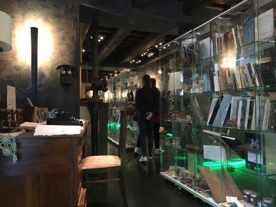 Scheggino, Italia: Museo con una bella atmosfera, si cerca di raccontare una storia di cui tutto il paese ne va fie