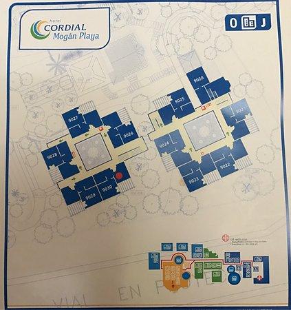 Teil Lageplan Bild Von Hotel Cordial Mogan Playa Puerto De Mogan