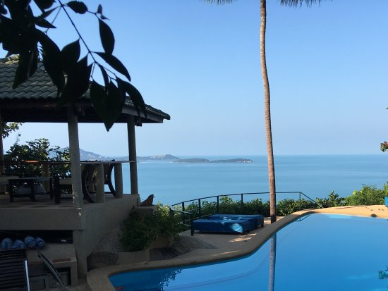 Samui Mountain Village: View from pool