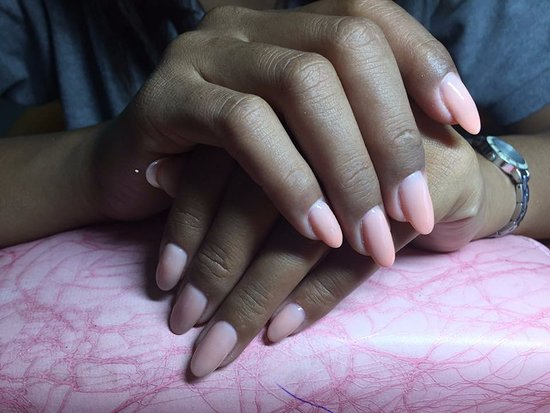 Natural gel nail extension $25 - Picture of MC Nail & Spa, Siem Reap ...